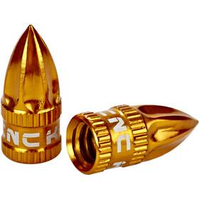 KCNC Capuchon de valve Presta à Schrader, gold